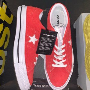 """One Star Ox """"Red Suede"""""""